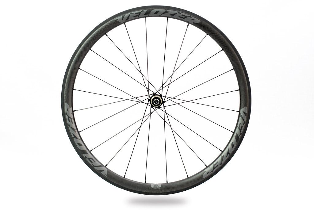 Juego de ruedas tubular perfil 38