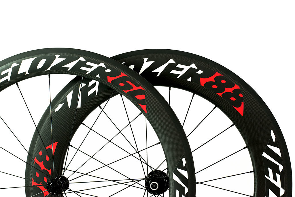 Juego de ruedas Full Carbon Tubular Perfil 60/88