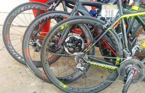 Varias ruedas en competición