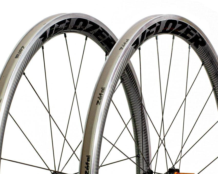 Juego de ruedas Carbo-Alu perfil 38