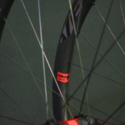 Juego de ruedas de perfil 38 para cubierta y disco