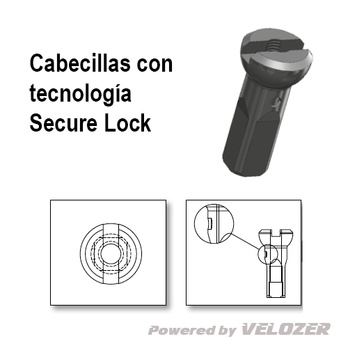 Cabecillas Sapim Secure Lock