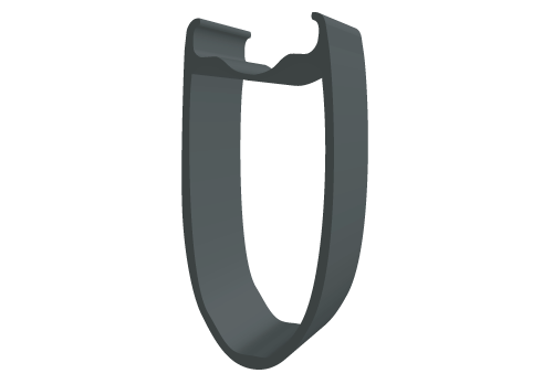 Perfil 60 ancho 25mm Cubierta TR